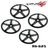 VP PRO ALUMINUM SETUP WHEELS FOR 1/8 SCALE BUGGY/TRUGGY/GT (4PCS) #RS-625