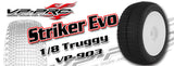 VP PRO #903 STRIKER EVO TRUGGY TIRE (UNGLUED)