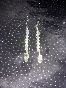 Herkimer Diamond Swavorski Crystal Earrings