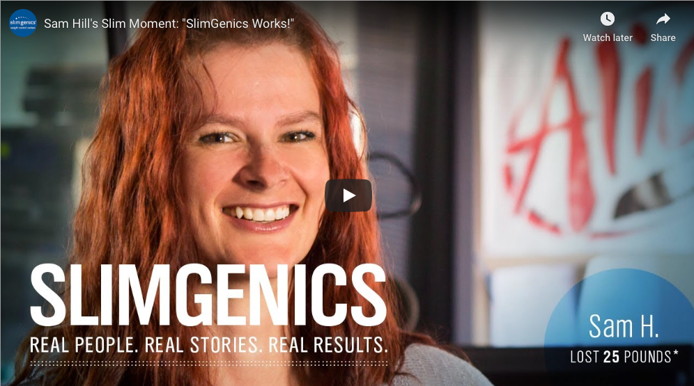 Sam Hill's Slim Moment: SlimGenics Works!