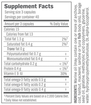 Omega-Slim Essential Fatty Acids – 120 count