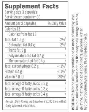 Omega-Slim Essential Fatty Acids – 270 count