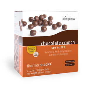 Chocolate Crunch Soy Puffs