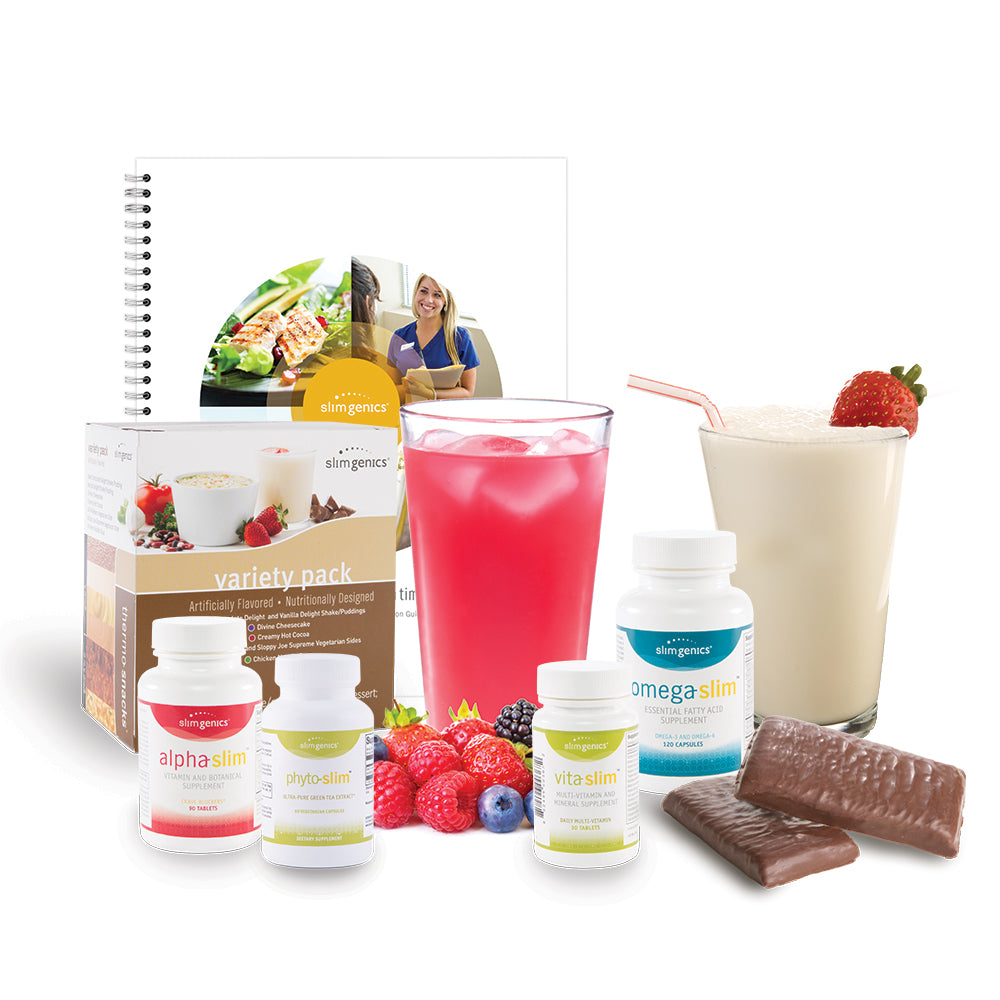 SlimGenics SlimAnywhere™ Weight Loss Program and Select Starter Pack