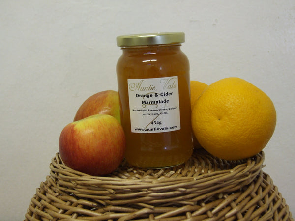Marmalade, Orange and Cider