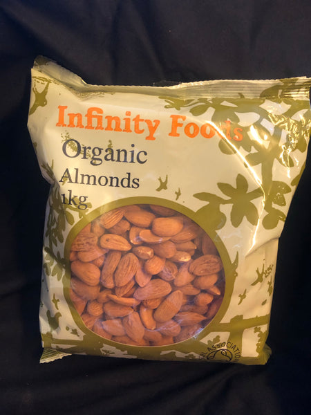 Nuts Organic Almonds