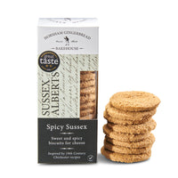 Sussex Alberts, Spicy Sussex Biscuits for Cheese