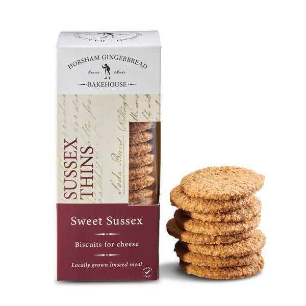 Sussex Thins, Sweet Sussex Biscuits for Cheese