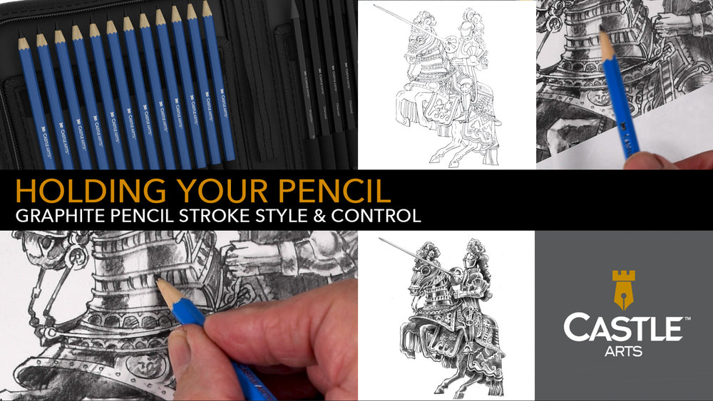 How to Hold & Control Your Graphite Pencils
