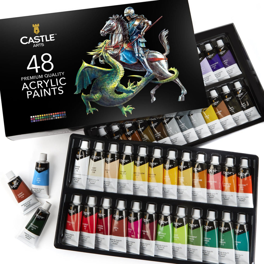 Load image into Gallery viewer, 48 Piece Acrylic Paint Set
