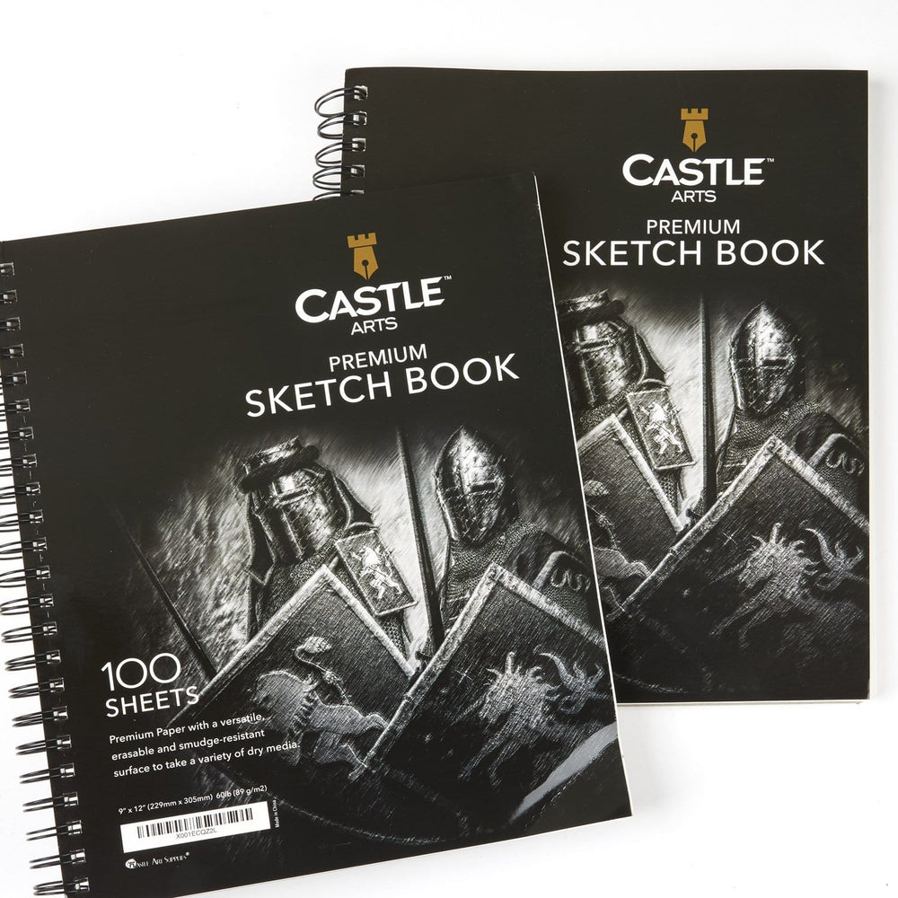 "200 Page 9"" x 12"" Sketch Pad Double Pack"