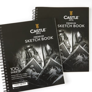 "Load image into Gallery viewer, 200 Page 9"" x 12"" Sketch Pad Double Pack"