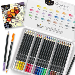 24 Piece Cezanne Coloured Pencil Set in Display Tin