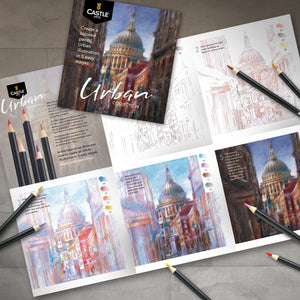 Load image into Gallery viewer, 24 Piece Urban Coloured Pencil Set in Display Tin