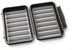 C & F Designs Medium 14-Row Waterproof Fly Box