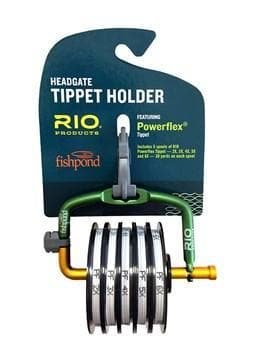 Fishpond Headgate Tippet Holder w/ Rio Powerflex Tippet 2X-6X