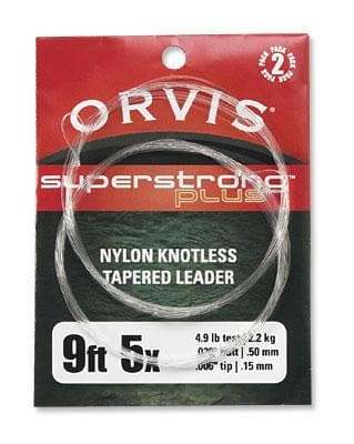 Orvis Super Strong Plus Leaders 9' 2 Pack