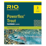 Rio Powerflex 9' Trout Leaders - 3 Pack