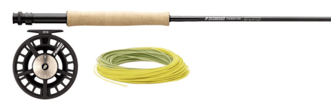Sage Foundation 590-4 Fly Rod Outift