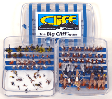 The Big Cliff Fly Box