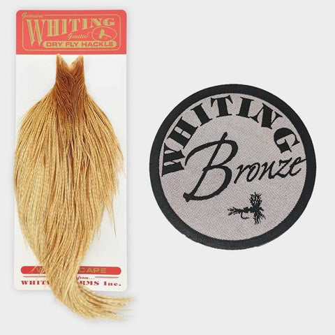 Whiting Farms Rooster Cape - Bronze Grade