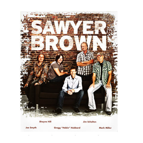 Sawyer Brown 2014 8x10 Photo