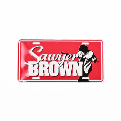 Sawyer Brown License Plate