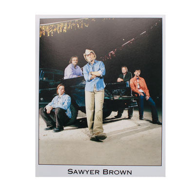Sawyer Brown 2011 8x10 photo