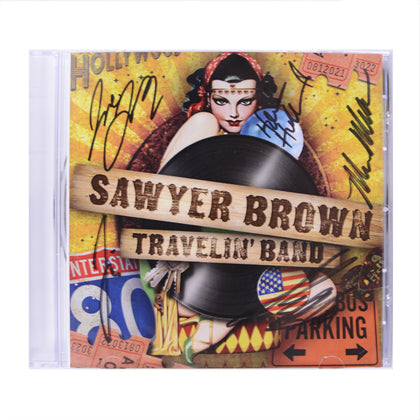 Autographed Travelin' Band CD