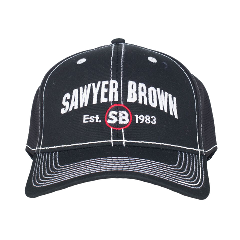 Sawyer Brown Est. 1983 Black Hat
