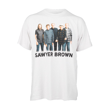 Sawyer Brown 2018 Concert T-Shirt - Stone