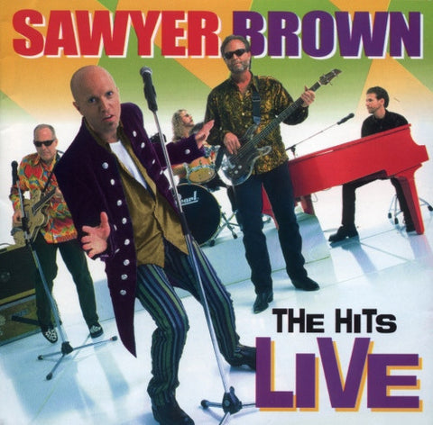 "Sawyer Brown ""The Hits Live"" CD"