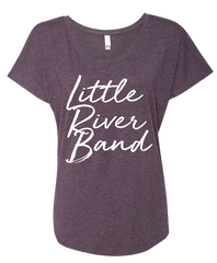 Ladies Little River Band Purple T-shirt