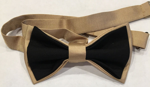 Black & Gold Bowtie