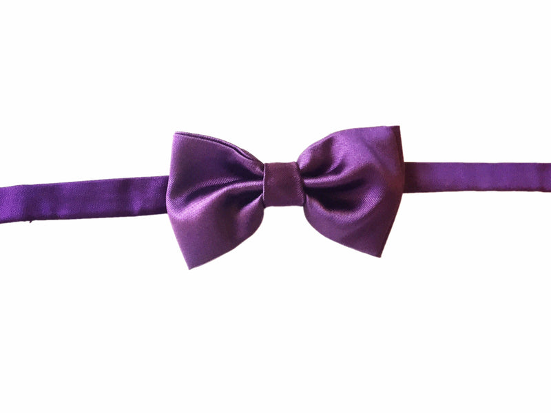 Solid Bowtie- Purple