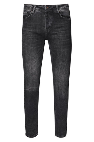 Slim Fit Jeans - Black/White