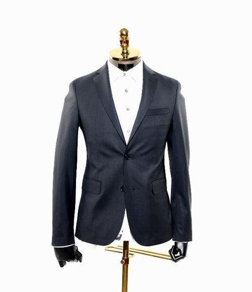 Performance Zero Weight Stretch Wool Suit- Navy