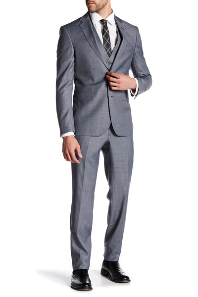 Merino Wool Suit - Grey
