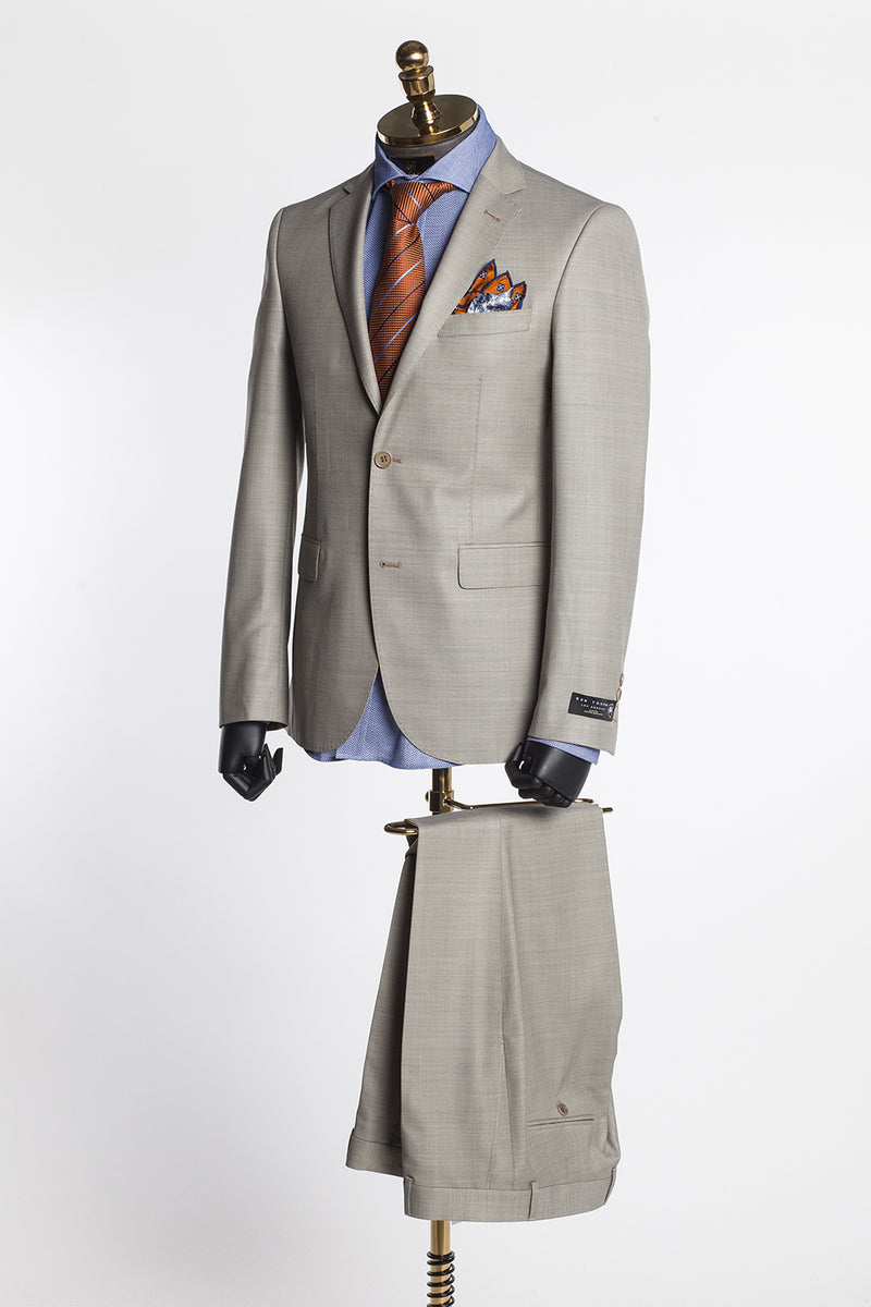 Merino Wool Suit - Beige