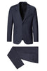 Slim Fit Wool Suit- Navy