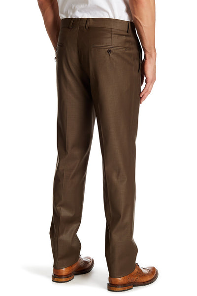 Brown Merino Wool Trousers