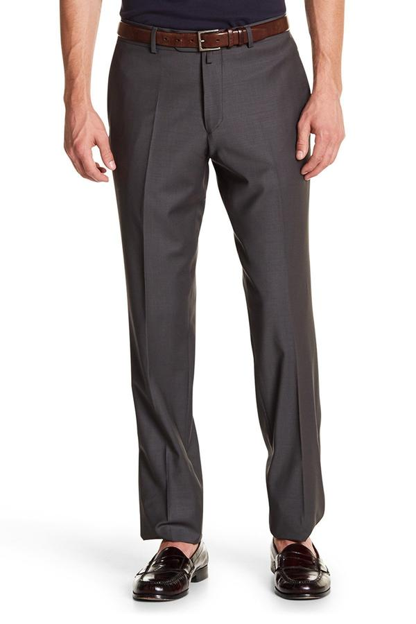 Merino Wool Trousers - Slate