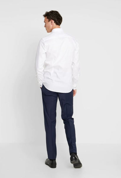 Slim Fit | Classic Long Sleeve Shirt- White