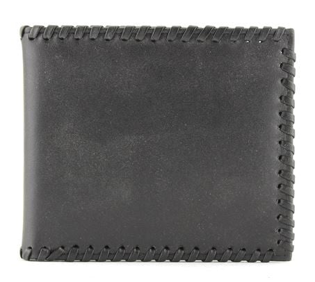 Leather Lace Stitch Wallet