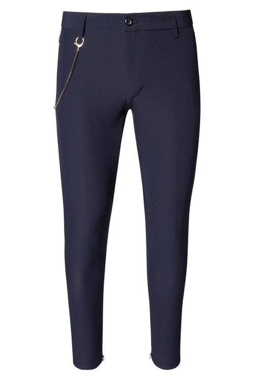 Lightweight Soft Trousers- Navy