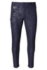 Tapered Slim Trousers- Navy Camo