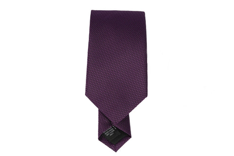 Micro Textured Tie-Purple