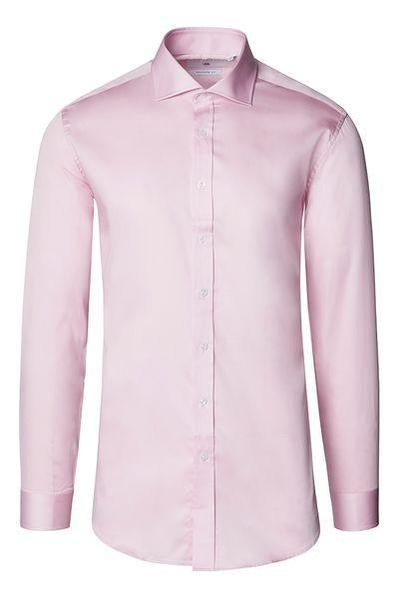 Spread Collar Dress Shirt- Pink
