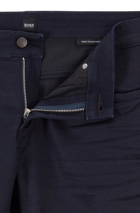 Hugo Boss | Slim-Fit Italian Denim- Navy