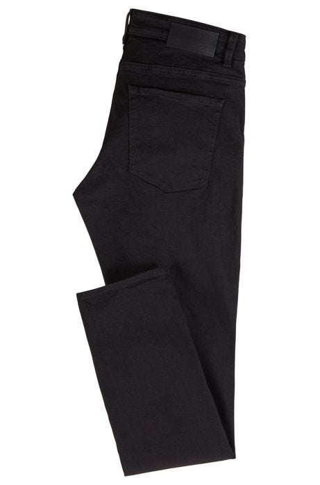 HUGO BOSS | Slim-Fit Italian Stretch Denim- Deep Black